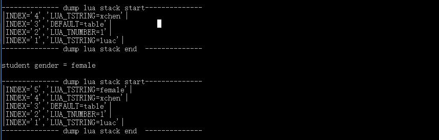 Lua - C++堆栈操作分析